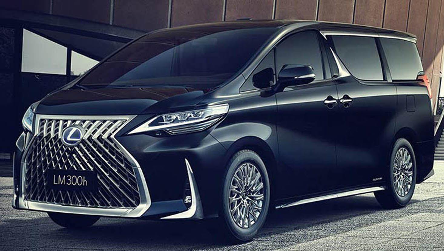 لكزس أل أم الجديدة بالكامل الميني فان الأولى الفاخرة من الشركة اليابانية موقع ويلز Mini Van Lexus Toyota Alphard