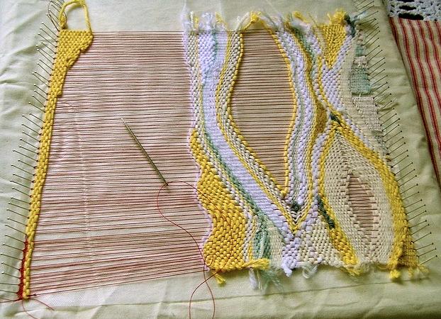 free form weaving  Free form weaving. GORGEOUS. | Pin weaving, Loom weaving ...