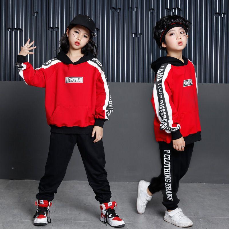 Girls Shirts Clothing Set Dance Hiphop Girls Causal Pants