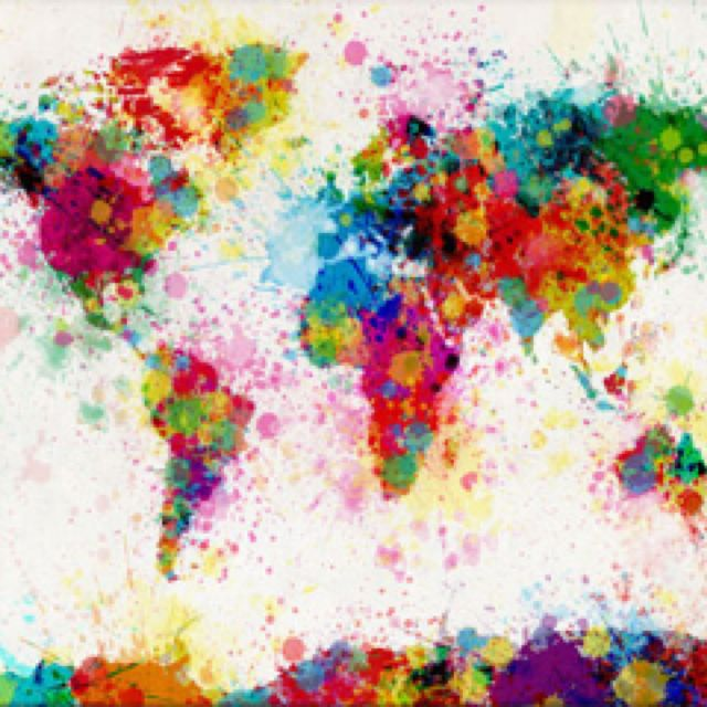 A colourful world inspiration pinterest a colourful world gumiabroncs Gallery