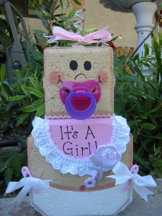 Baby Girl Patio Person Personalized Baby by SunburstOutdoorDecor, $22.00
