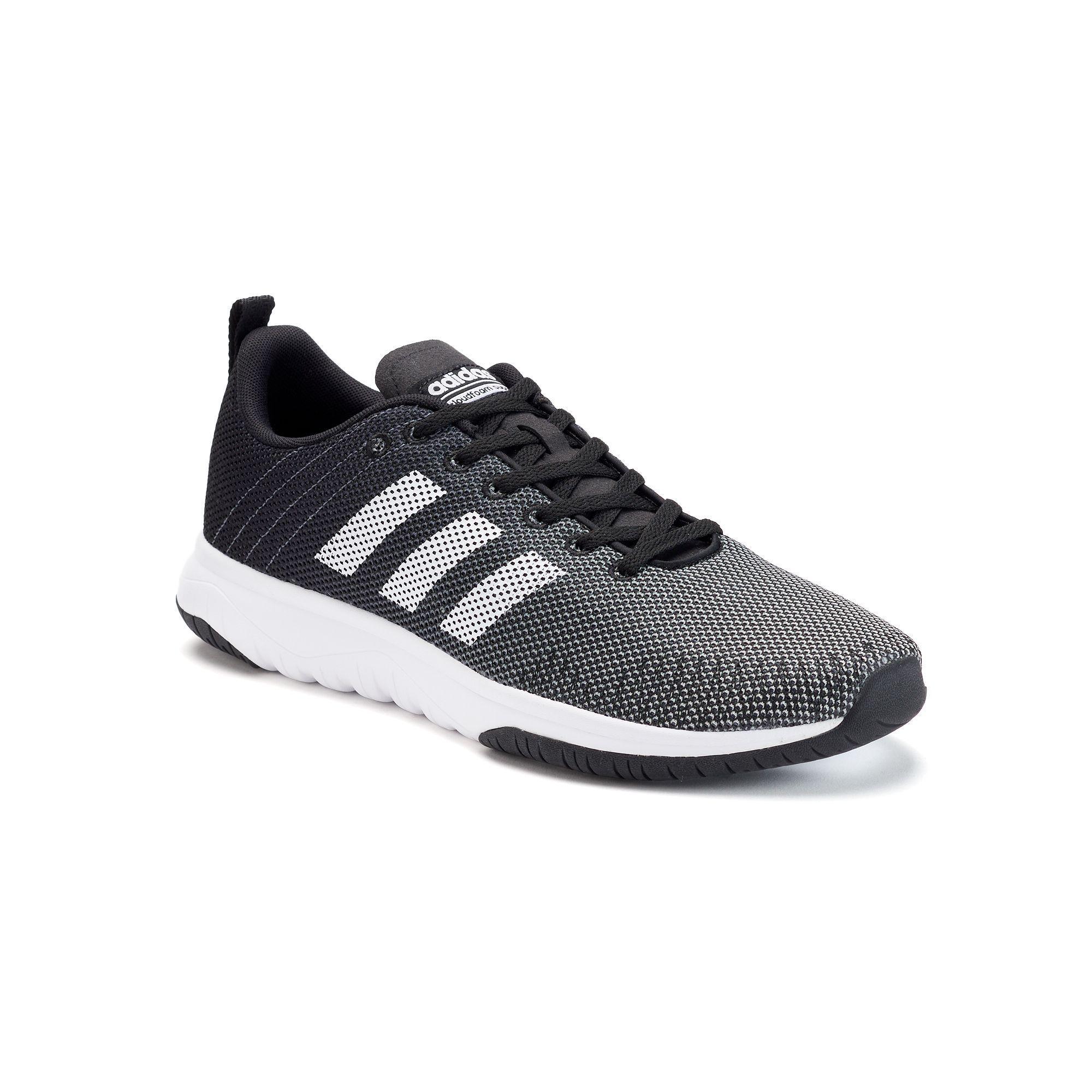 hot sale online 33331 a8048 Adidas NEO Cloudfoam Super Flex Mens Shoes, Size 10.5, Black