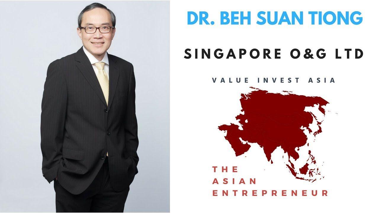 4 The Asian Entrepreneur Dr. Beh Suan Tiong (Singapore