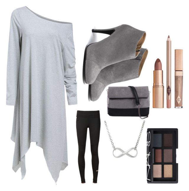 """""""Cool and Casual"""" by mapletail550 ❤ liked on Polyvore featuring Mode, adidas, 7 Chi und NARS Cosmetics"""