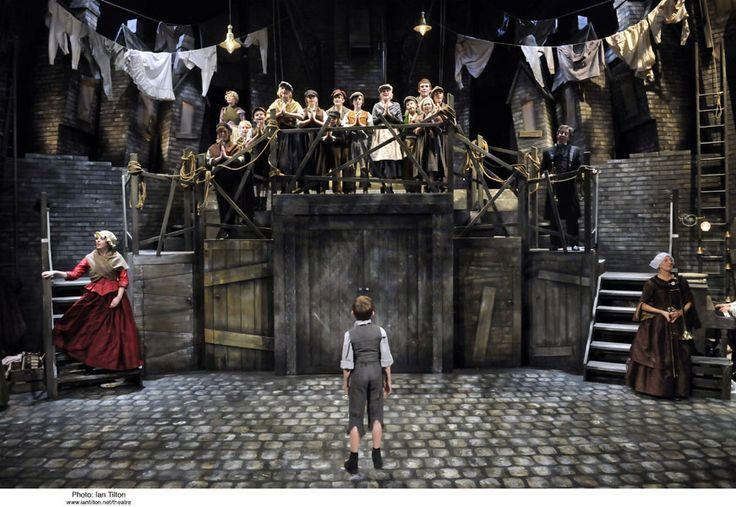 Oliver The Musical Set Google Search Set Design Theatre Stage Set Design Theatre Set