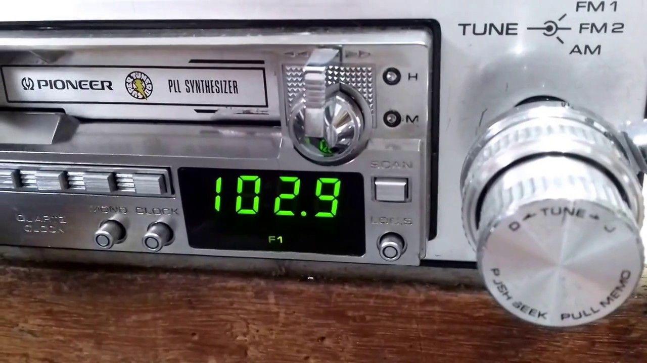 Video Teste Radio Toca Fitas Pioneer Ke 5100 Vargas Radios Amparo