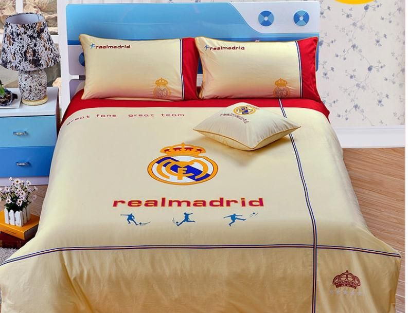 Real Madrid Queen Bed Set