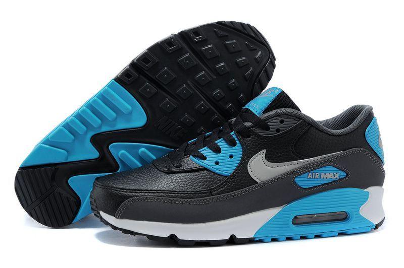 size 40 936b4 f0561 chaussure air max one homme air max 90 noir et bleu