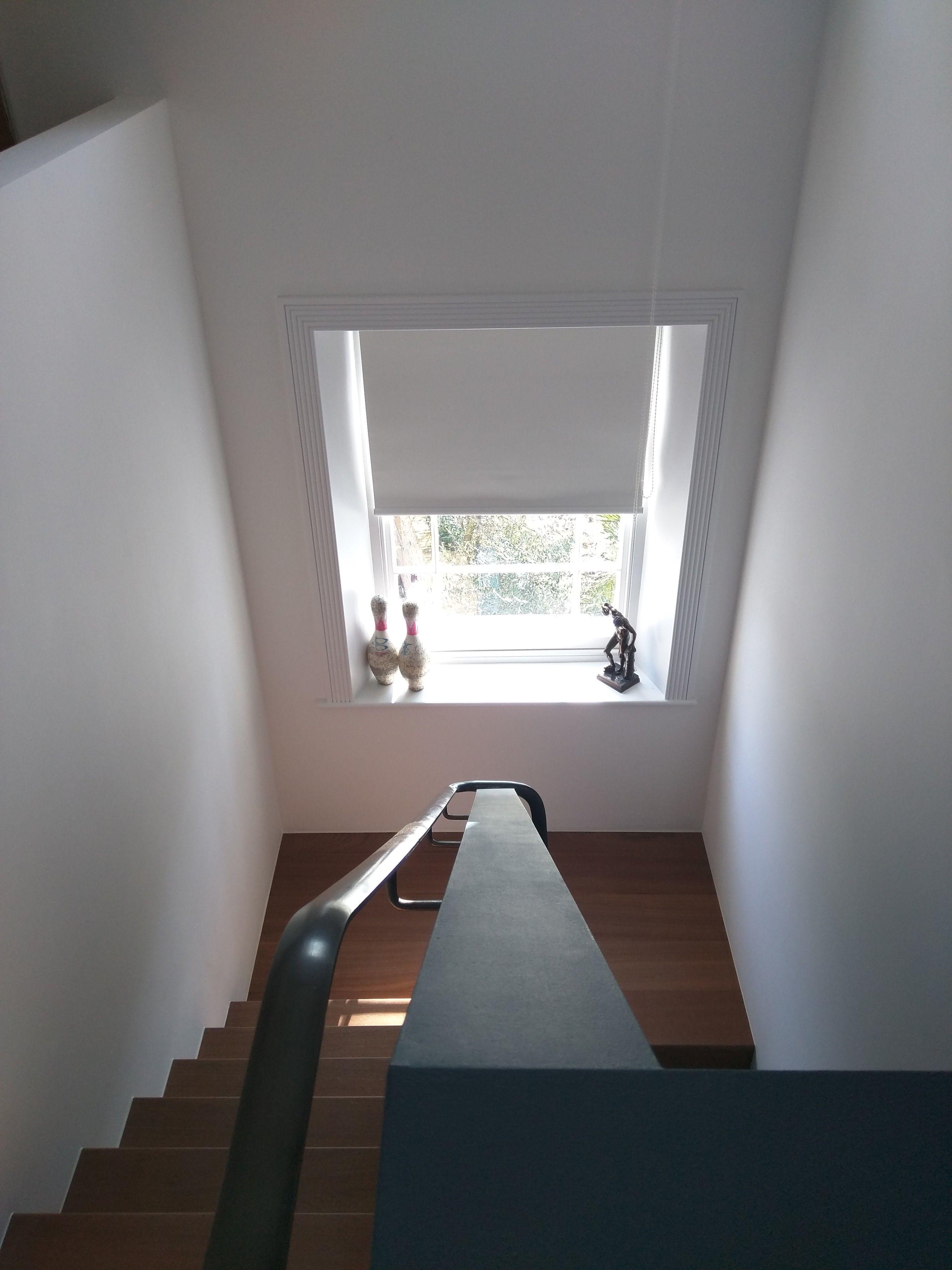 Staircase Blinds - Blackout Roller Blind - Sash Window Blind