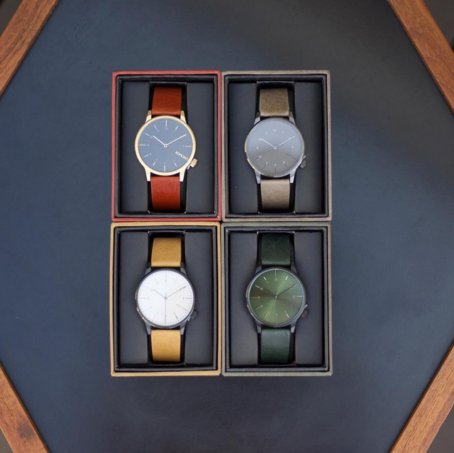 We launched four new Winston Regals. What's your favorite color: Pecan, Elephant, Camel or Forest? #komono