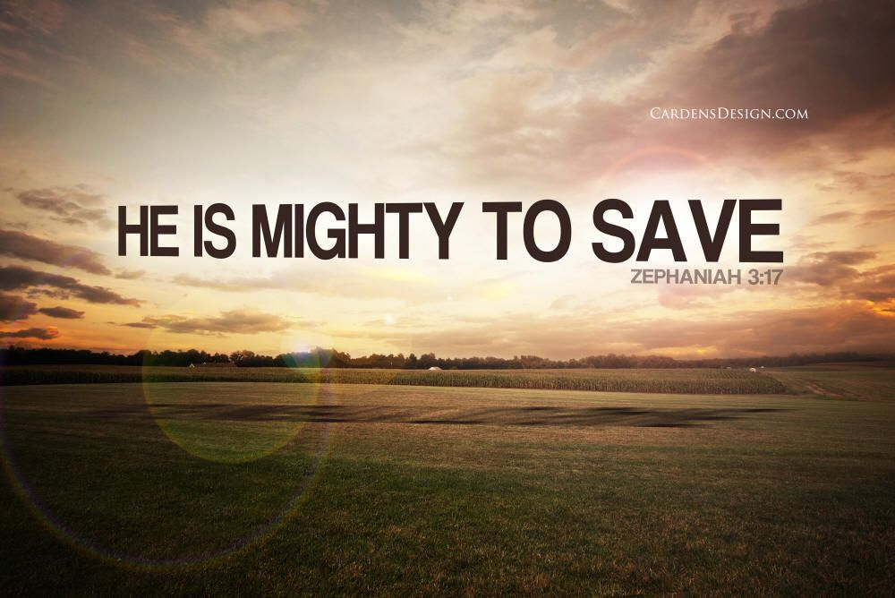 Mighty To Save Wallpaper