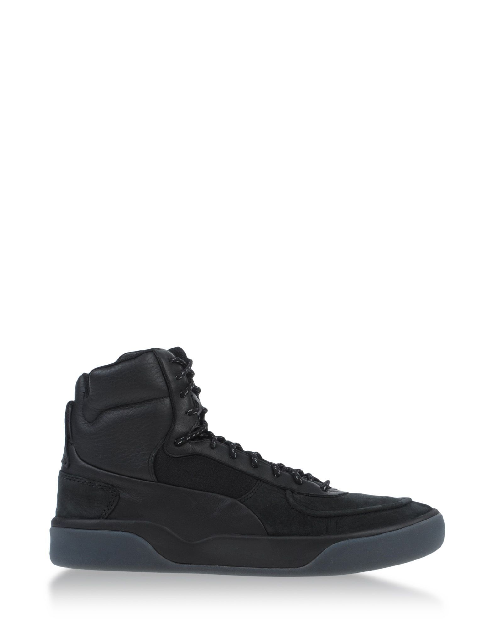 Alexander Mcqueen X Puma High-Top leather Sneakers in Black for Men