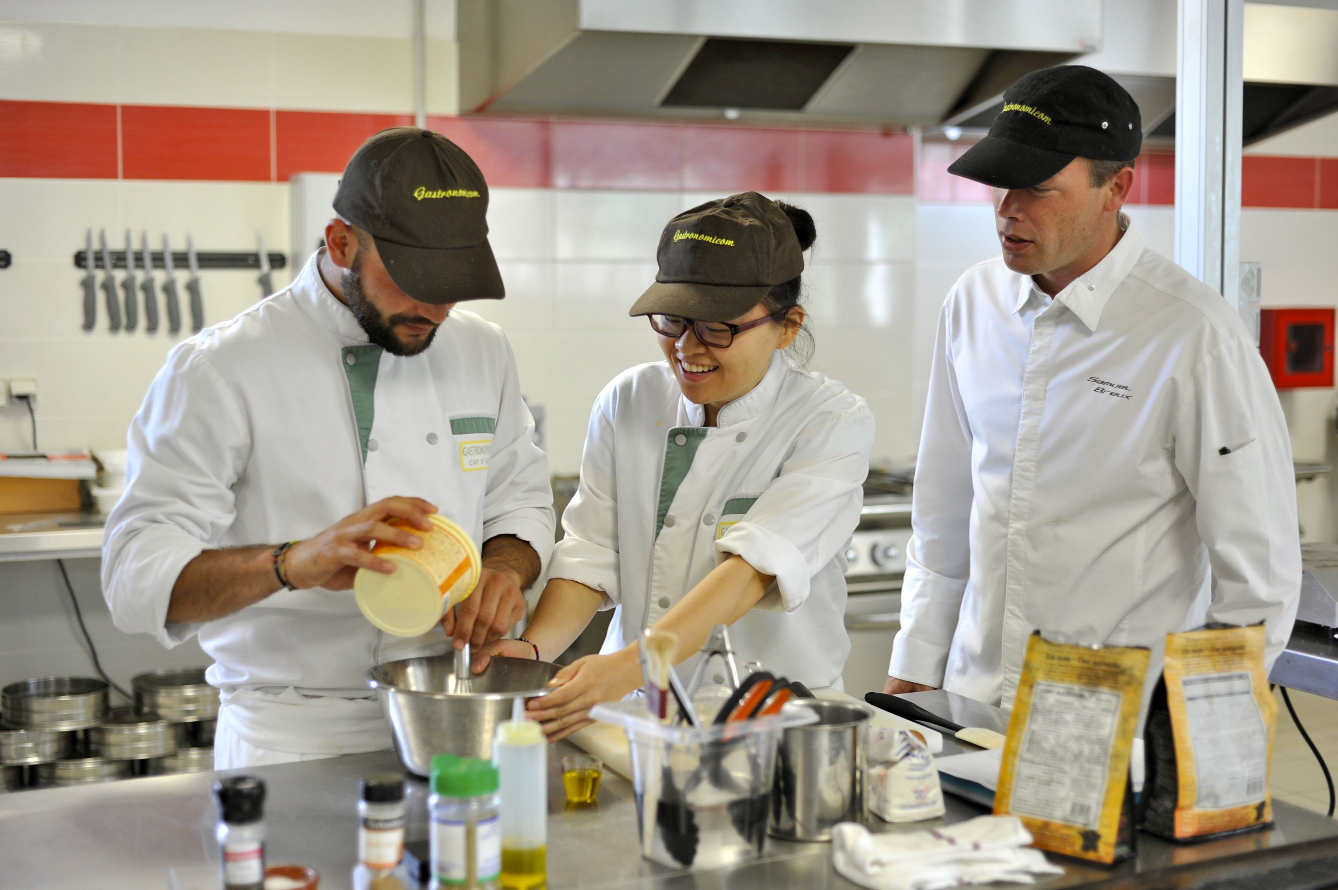 Gastronomicom : International culinary school in the south of France.