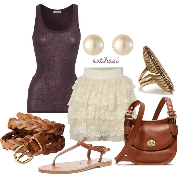 """""""Cute Spring Summer Outfit"""" by natihasi on Polyvore"""