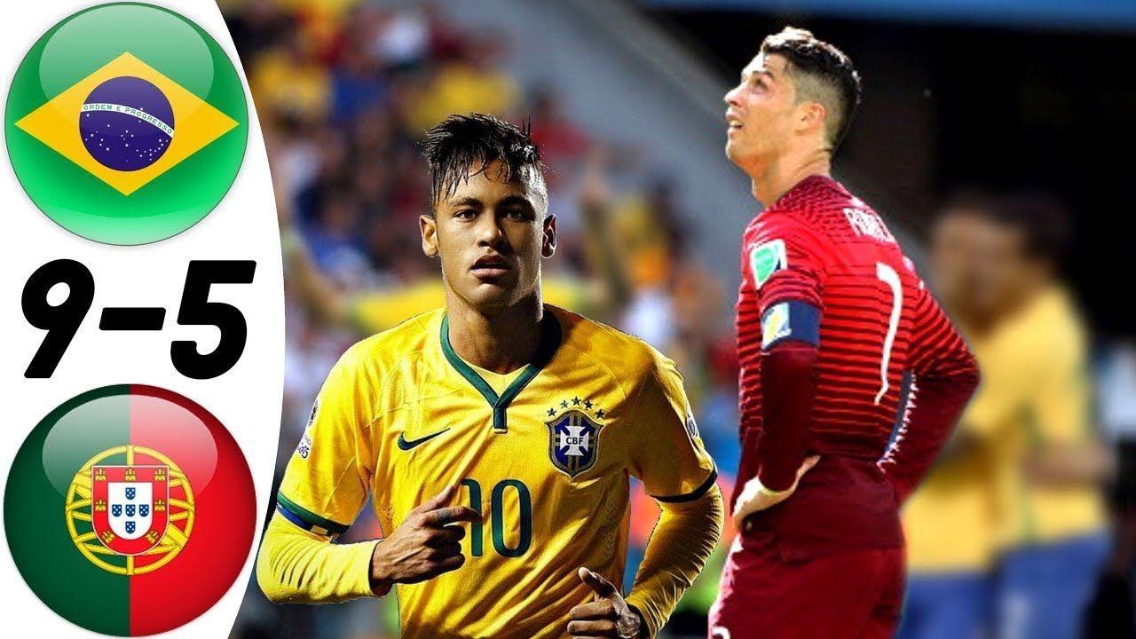 Brazil vs Portugal 95 All Goals & Extended Highlights