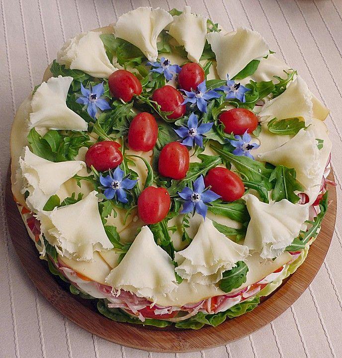Party - Salattorte von Paradiesabbel | Chefkoch -  Party – Salattorte 1