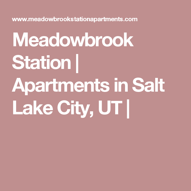 Salt Lake City Utah Houses: Apartments In Salt Lake City, UT