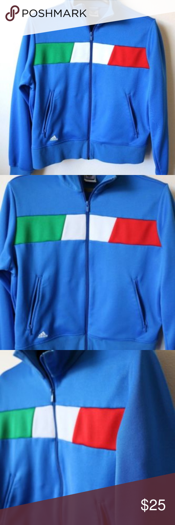 Adidas Italy World Cup Zip Up Track Jacket Adidas Italia