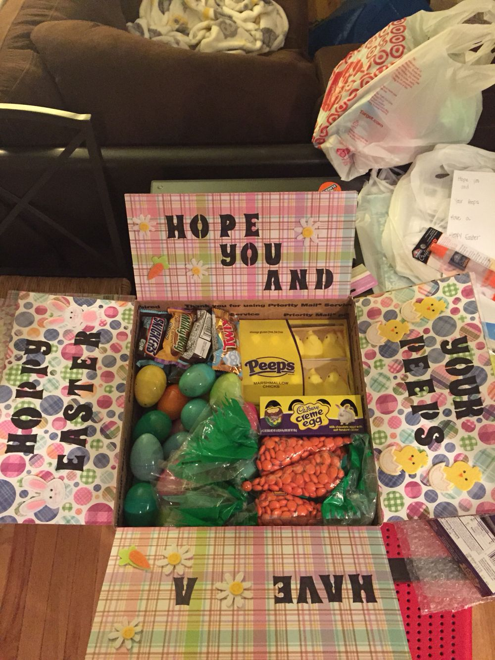 Easter care package deployment care package ideas pinterest easter care package negle Image collections