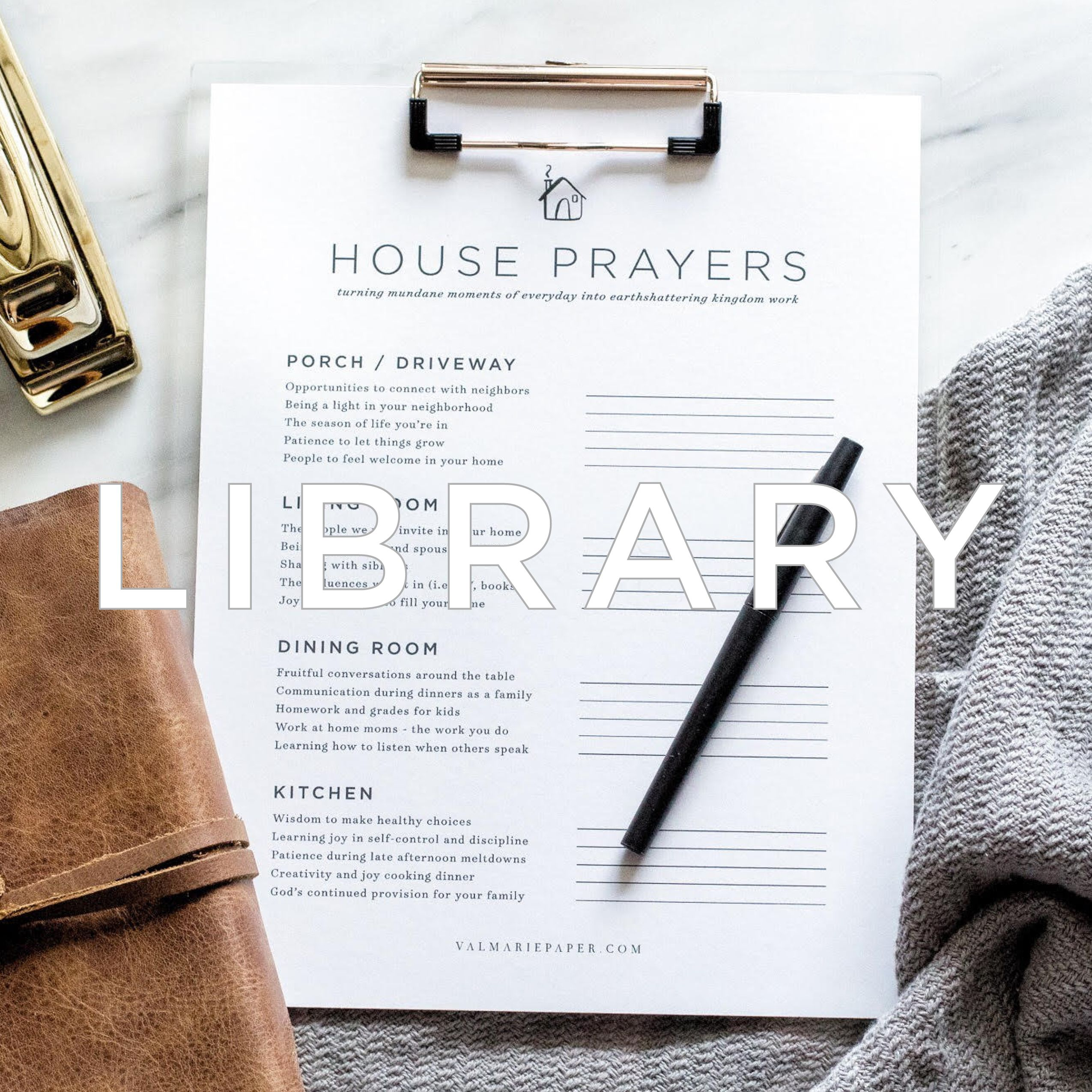 House Prayers Worksheet With Images