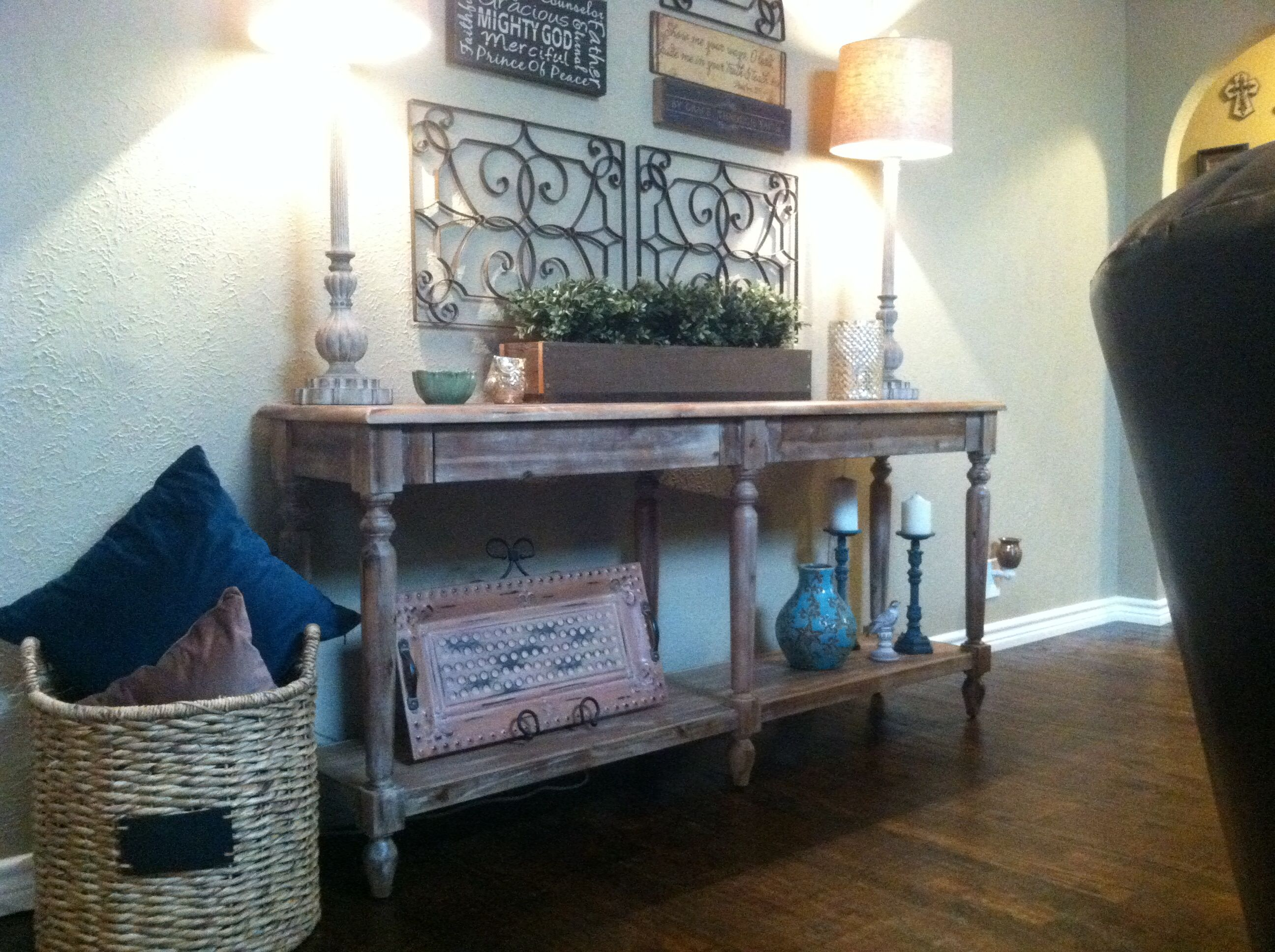 Foyer Table Home Goods : Love my christmas present it s coming together everett