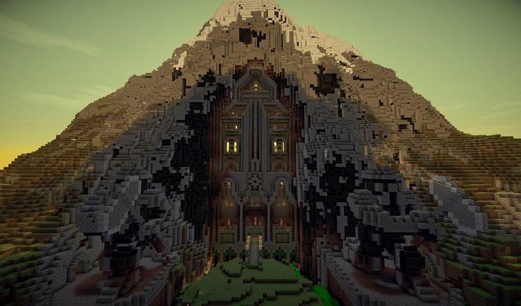 Minecraft Mountain House Ideas Google Search Minecraft