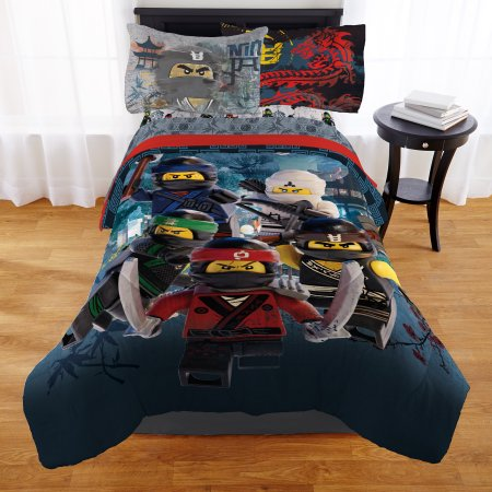 Home Kids Bedding Sets Bed In A Bag Lego Ninjago Movie