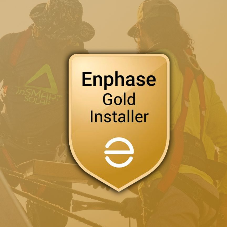 Trismart Is Now A Gold Installer With Enphase Gold Installers Have A Long Track Record Or Consistently Exhi In 2020 Solar Companies Solar Power House Cps Energy