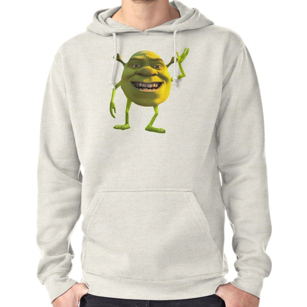 Shrek Wazowski T Shirt By Greedretro Hoodies Pullover Hoodie Pullover