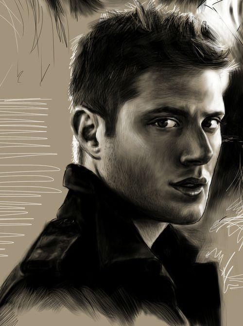 Dean fan art by tofiepie