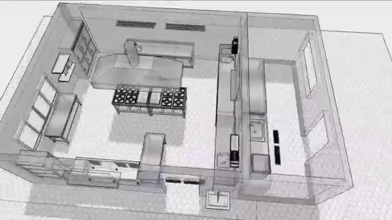 Cozinha Industrial Em Inox Voltada Para Produ O De Alimentos