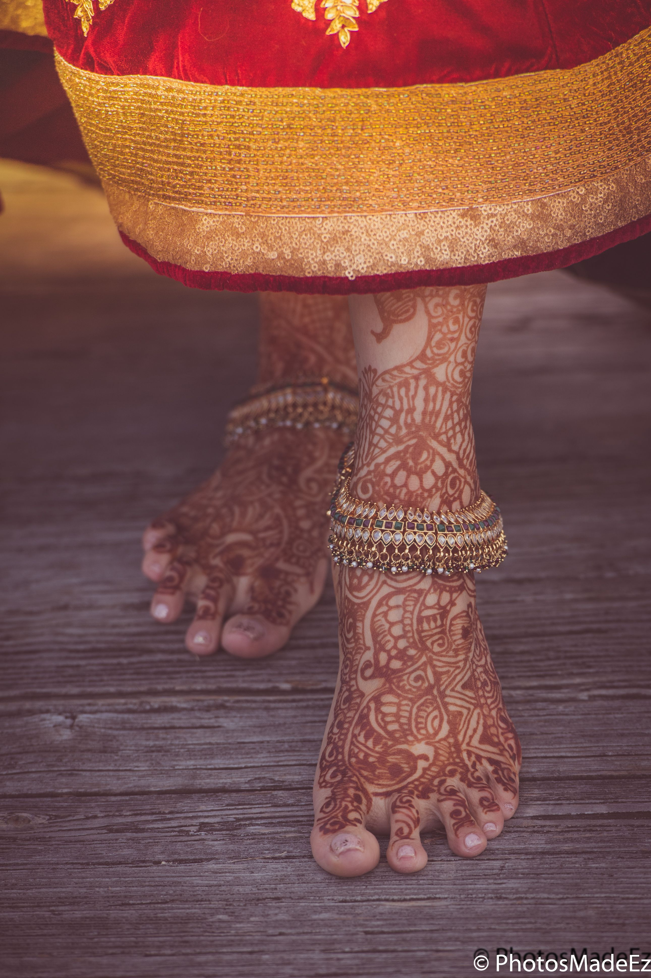 Indian Bride Portrait for Hindu Wedding at the Mansion in voorhees