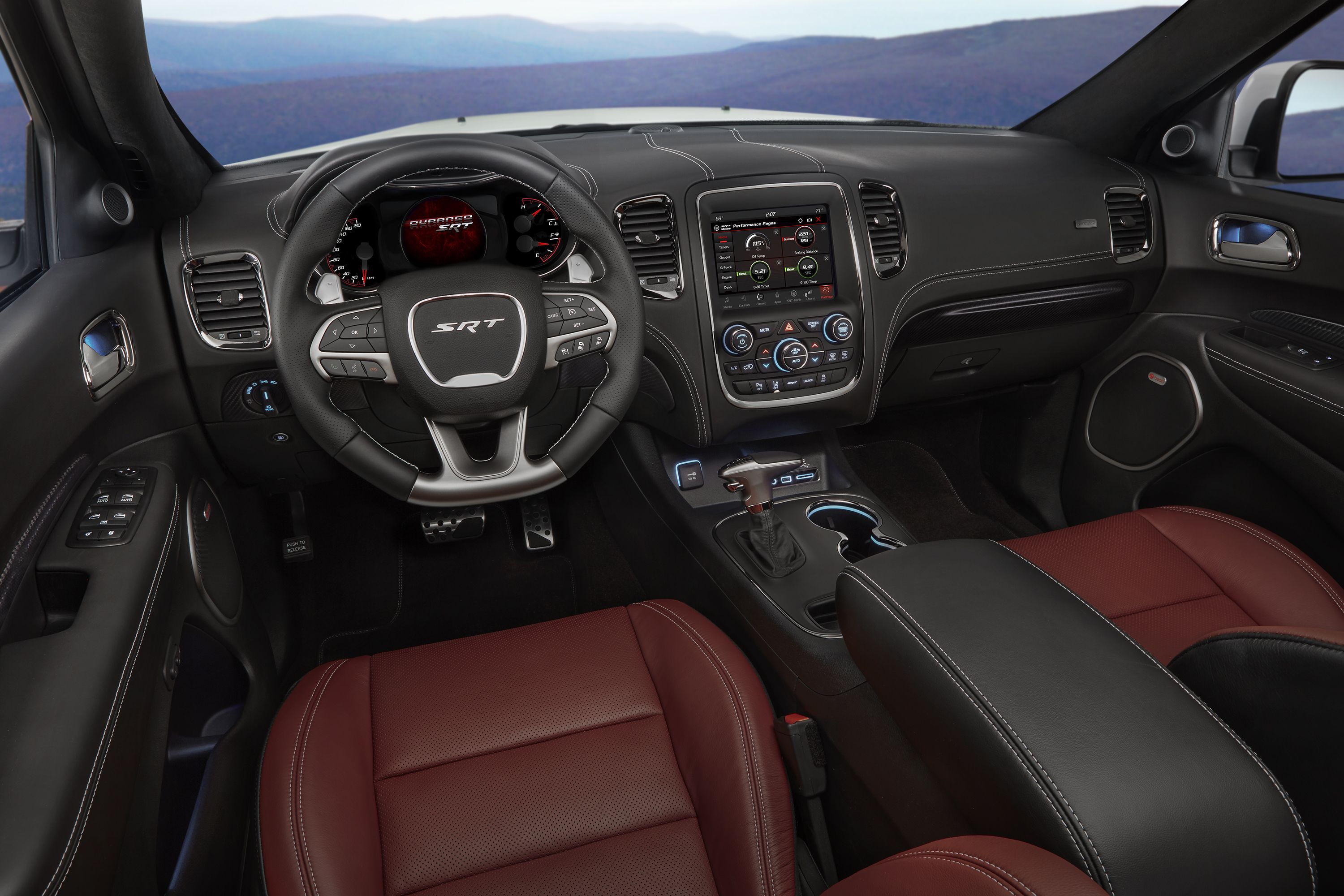 row view hp the three look dodge cars durango nearly first srt review interior
