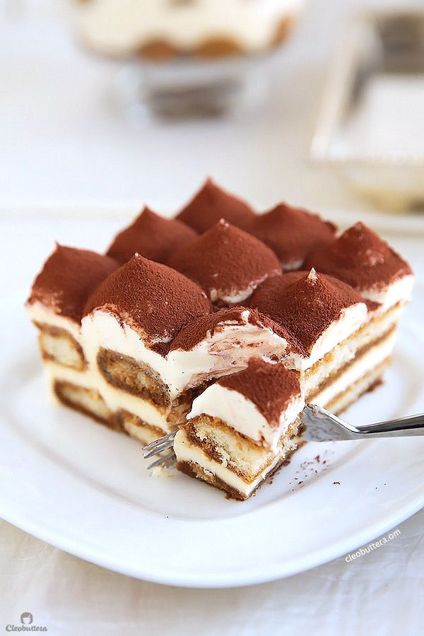Photo of Exceptional Tiramisu (Raw Egg-Free, Alcohol-Free) | Cleobuttera