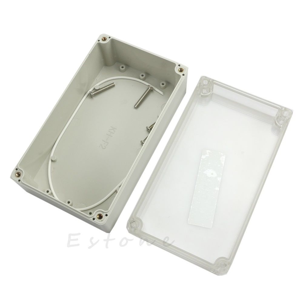 Waterproof Clear Project Electronic Box Enclosure Plastic