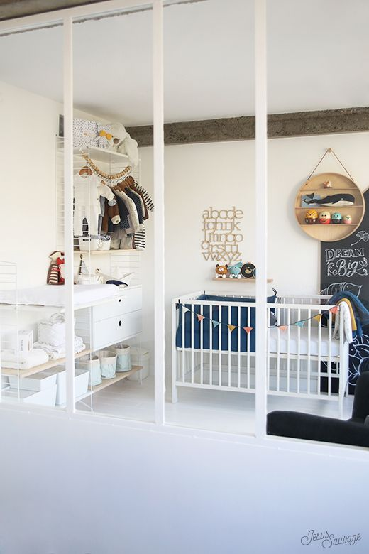 Dans la chambre de MARIN#hometour String shelf, Kids rooms and Room
