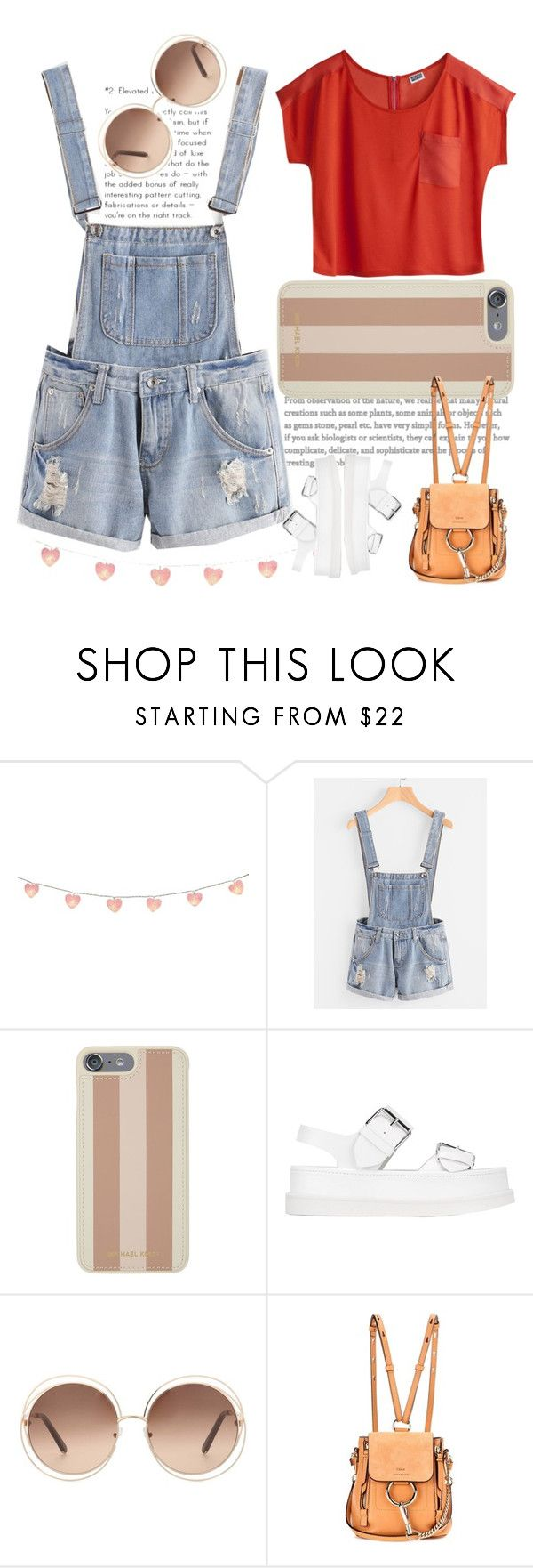 """""""Untitled #181"""" by madness4fashion on Polyvore featuring MTWTFSS Weekday, Michael Kors, STELLA McCARTNEY and Chloé"""