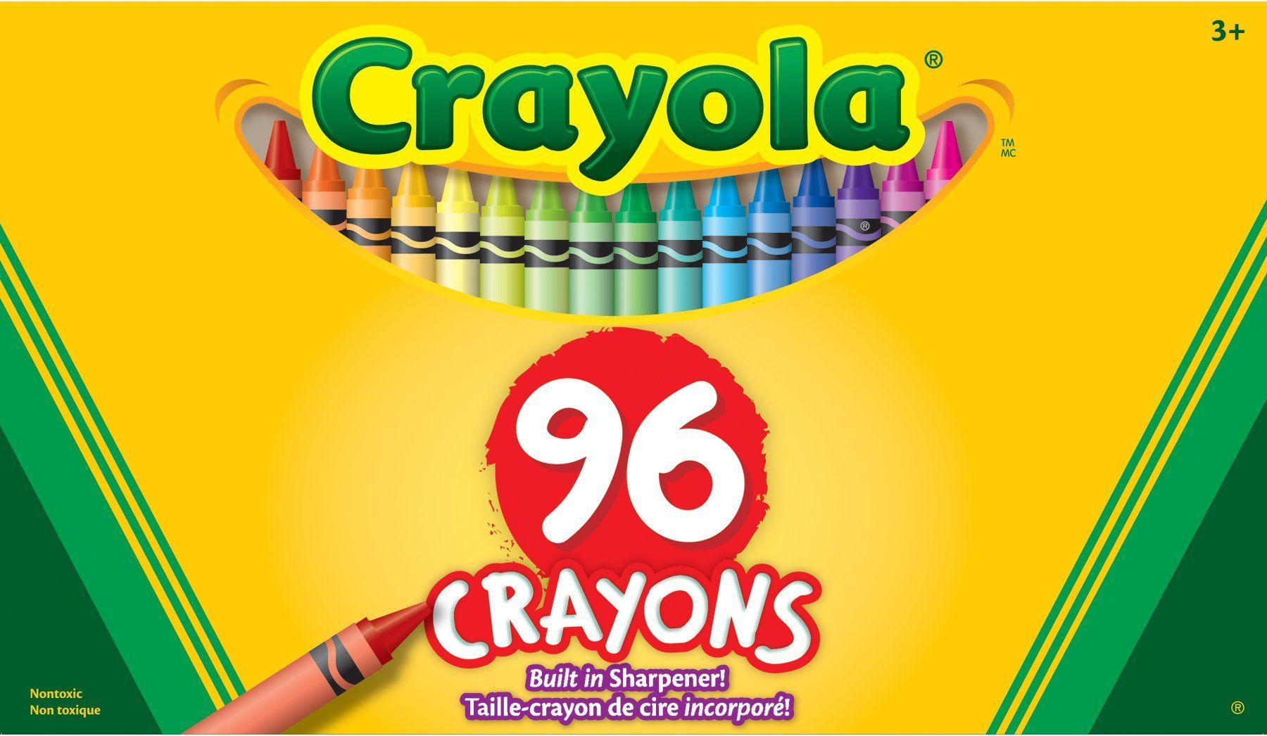 crayola 96 crayons kat s birthday wish list pinterest crayons