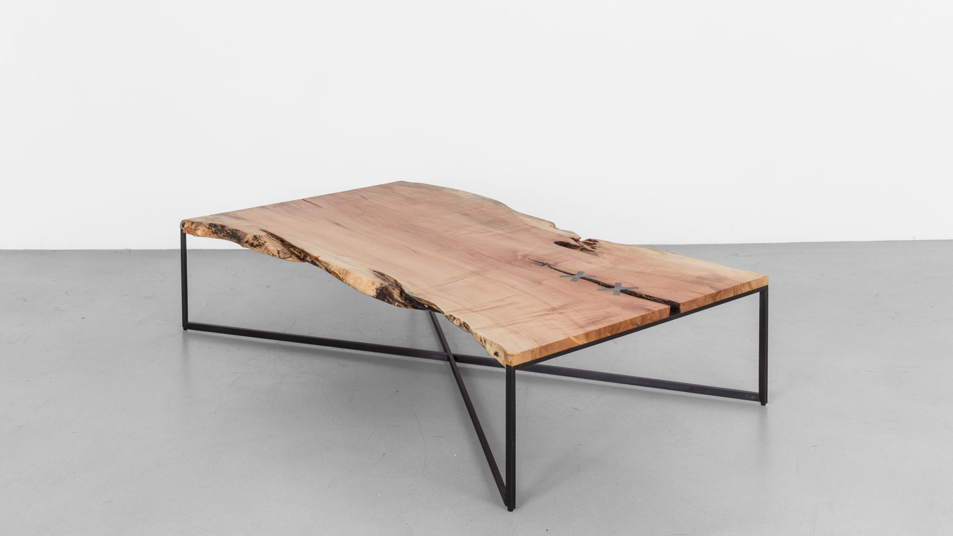 Stitch Coffee Table Coffee Table Live Edge Wood Table Welding