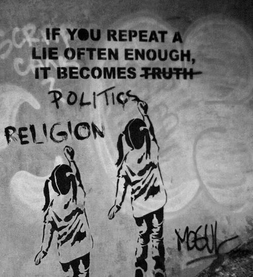 Risultati immagini per fake news street art
