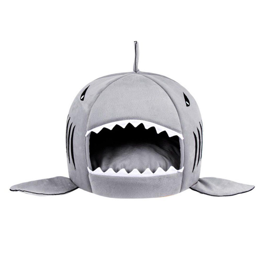 Worderful Dog Shark Bed Cat Shark Sleeping Bag Pet Warm Round House With Bed Mat For Small Dogs And Cats S Infor In 2020 Shark Dog Bed Dog House Bed