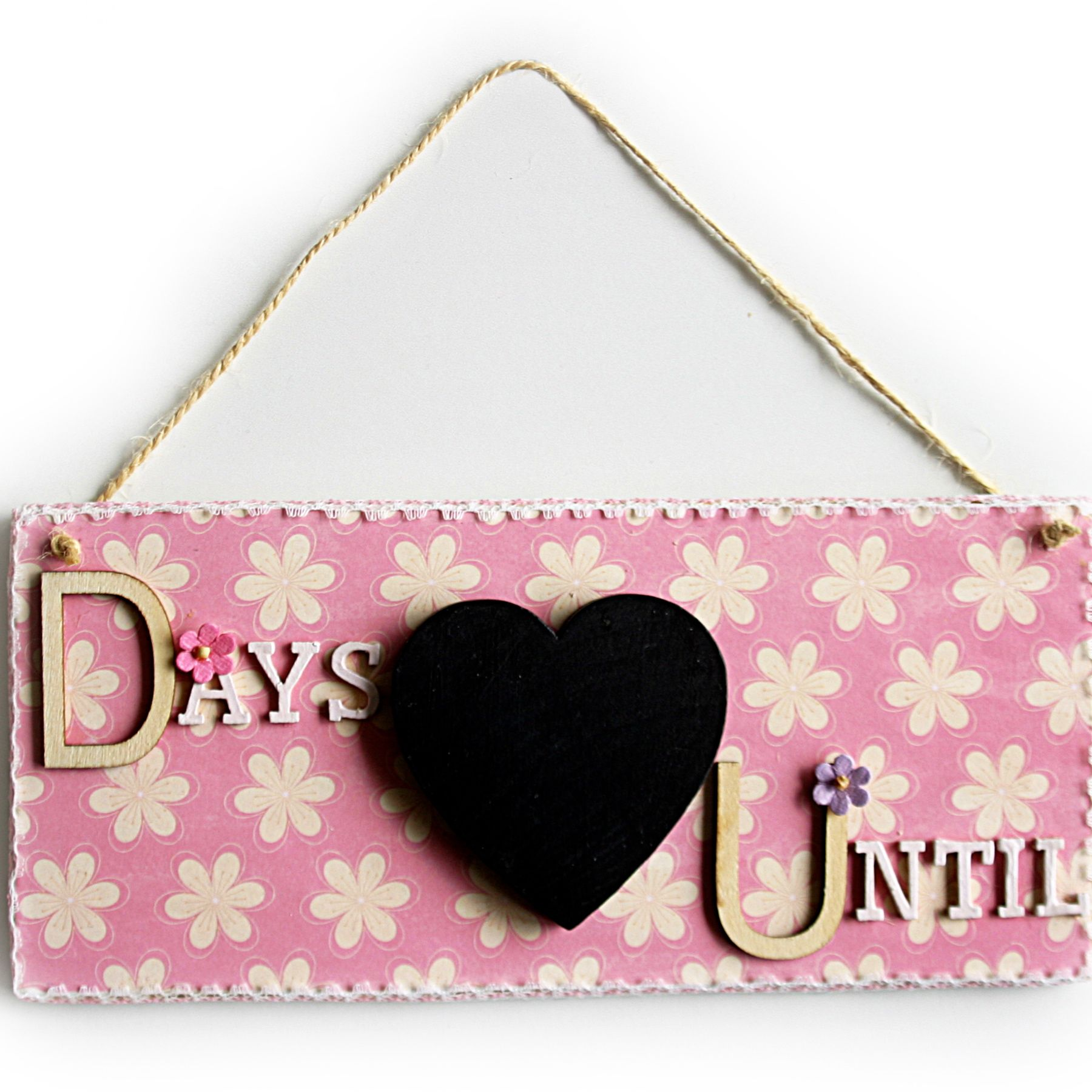 Days Until Wooden Sign, Count the Days Wooden signs