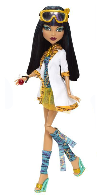 Mattel Monster High Doll Accessories Mad Science Classroom