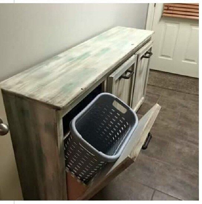 Awesome Pallet Laundry Basket Holder Ideas 17 images