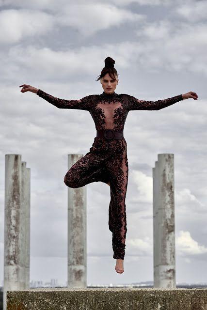 Elena Melnik | L'Officiel Suíça Janeiro 2017 | Editoriais - Revistas de Moda