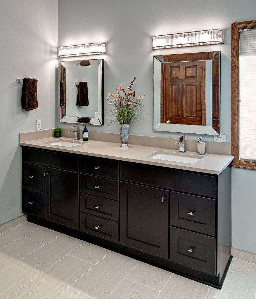 Bathroom Mirror Ideas Double Vanity minneapolis bathroom remodeling | k2 bath design | barrow down