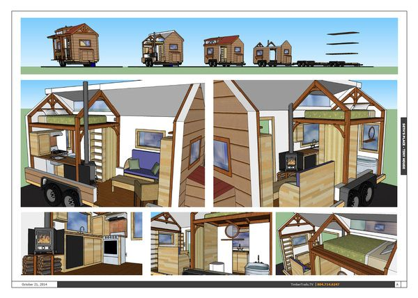 Tiny Home Designs: Tiny House Made Of SIPs Designed By Thom Stanton Of Timber