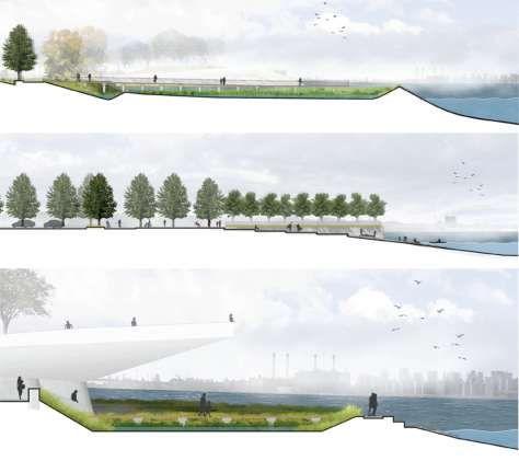 Hunters Point South Waterfront Park By Thomas Balsley Associates Urban Landscape Design Waterfront Architecture Landscape Plans