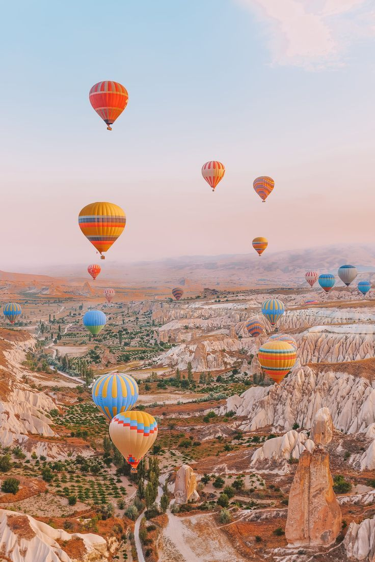 15 Best Places In Turkey To Visit Hot air balloon rides