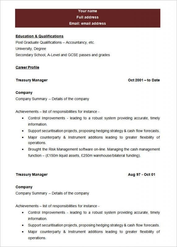 Blank Resume Template resume examples Pinterest Template - resume formats free download word format